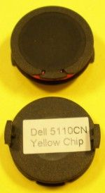 Čip do tonerové kazety - DELL 5110CN -yellow- / 12K
